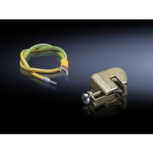 DK 7549.000, Erdungsleitung 6mm², 500 mm, vertikal, Preis per VPE, VPE = 10 Stück