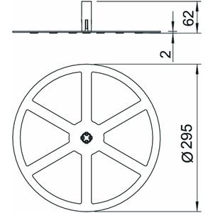 F-FIX-B10, Basissystem für FangFix 10kg, PP