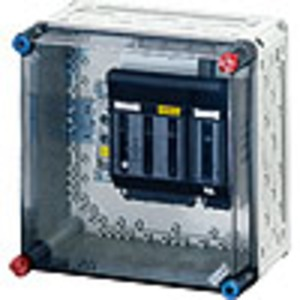 Mi 5260, Mi-NH-Sicherungslasttrennschaltergehäuse , 1xNH 00, 4polig 125 A+PE