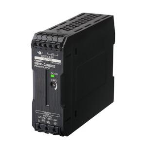 S8VK-G06012-400, Schaltnetzteil - PRO Linie, 60 W, 100 bis 240 VAC Eingang, 12 VDC, Power Boost,  vergossen