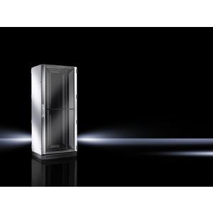 DK 5509.161, Netzwerk-/Serverschrank, belüftete Türen, vormontiert, 19-MR, BHT 800x2000x1000