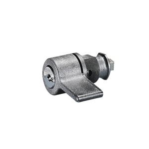 KS 1484.000, Kunststoff-Handgriffe, mit Sicherheitszylinder-Einsatz, Nr. 3524 E, RAL 8019, E