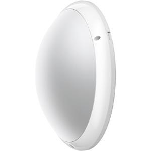 SQUAD LED 21W WEIß, Wand- und Deckenleuchte Squad LED 21W Weiß aus Polycarbonat, IP65, IK10, Schutzklasse II