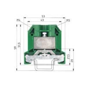 9700 A / 10 SL 2 S35, Schutzleiterklemme-9700 A / 10 SL 2 S35