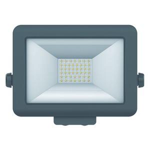 theLeda B30L BK, LED-Strahler für Wandmontage, 30 Watt, schwarz