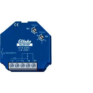 NLZ61NP-230V, Nachlaufschalter elektronisch, für Einbau, 230 VAC/10 A, NLZ61.1-8..230V UC