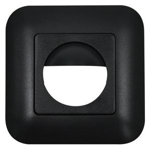 Rahmen IP20 Indoor 180 anthrazit matt, ähnlich 70, Rahmen IP54 zur Kombination mit den Sensoreinsätzen für die automatischen Wandschalter Indoor 180