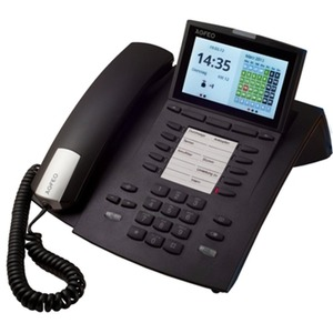 ST 45 IP schwarz, Systemtelefon für Anlagen mit ASIP Protokoll-Unterstützung