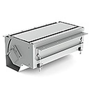 Hochwertiges Tischanschlussfeld für Strom-, Kommunikations- und AV- Schnittstellen, rahmenloser Untertisch-Einbau, für individuelle Oberflächen (Oberf