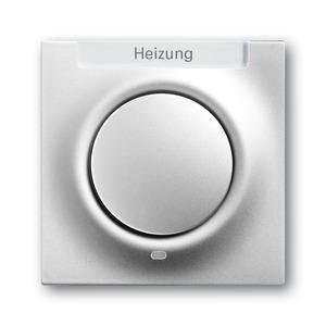 1789 H-783-101, Zentralscheibe, alusilber, impuls, Abdeckungen für Schalter/Taster