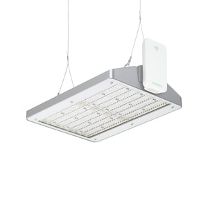 BY471X GRN250S/840 NB GC ACW SI, GentleSpace GreenWarehouse - LED GreenLine system flux 25000 lm - 840 Neutralweiß - Tiefstrahlend - Klarglas - ActiLume wireless - Silber
