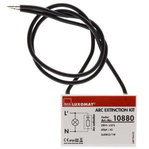RC-Löschglied, Dieses RC-Löschglied dient im Bedarfsfall der Entstörung Ihrer Lichtinstallation.