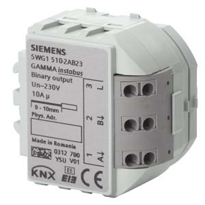 5WG1510-2AB23, Binärausgabegerät RS 510/23 2x 10A, AC 230V (Relais)