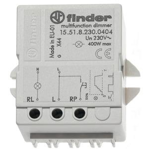 15.51.8.230.0404, Dimmer für Chassis- oder Dosenmontage, dimmt stufenlos, mit Memoryfunktion, max. 400 W, für 230 V AC