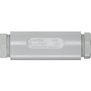 526129, Kabelverbindungsmuffe, 5 x 2,5 mm2, grau