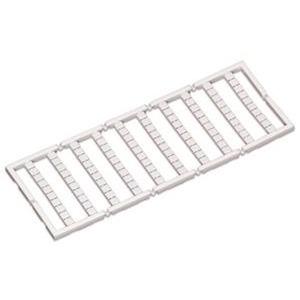 Mini-WSB-Schnellbeschriftungssystem unbedruckt Schildchenbreite 5 mm 10 Streifen à 10 Schilder pro Karte weiß