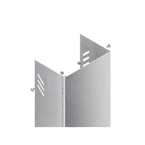 STVW 400 S, Steigetrassenverkleidung, 203x409x3000 mm, für STL/STM, Wandmontage, Stahl, bandverzinkt DIN EN 10346, inkl. Zubehör
