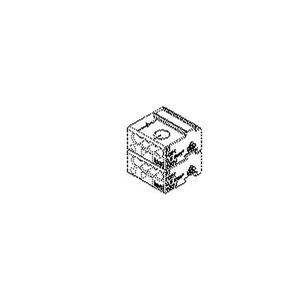 1001.8.01, MINCOM-Verbindungsklemme, Höhe 11,5 mm, Klemmbereich 0,28-0,5 mm², Kunststoff PA, RAL 7035, lichtgrau