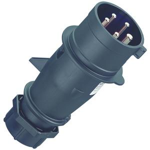 Stecker AM-TOP, 16A5p 6H400V  IP44 HW/VN