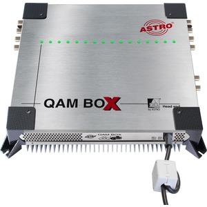 QAM BOX 19 KIT 19, 19 Montagewanne für die Installation einer QAM BOX in einem 19-Schrank (z.B. LGH 2000), 10 HE, Kabeldurchführungen für HF-Zuführungen und Netzkabel