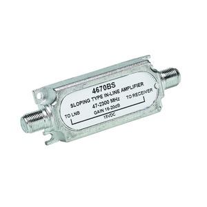 IN-LINE, Inlineverstärker SAT + Terr., 47-2300 MHz, 16-20 dB
