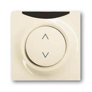 6066-72-101, IR-Bedienelement, elfenbein/weiß, impuls, Bedienelemente für Dimmer