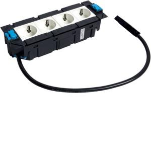 Gerätebecher 4 x STD rw Wago 3x1,5mm²