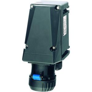 GHG 511 4306 R0001, Ex-Wandsteckdose für Zone 1/21, 16 A, 3-pol., GHG 51 200-250 V, 6 h, 1 x M25 Leitungseinführung, 1 x M25 Schraubverschluss