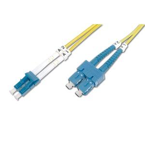 DIGITUS LWL Patchkabel SC (APC) to LC (APC), Singlemode 09/125 µ