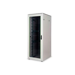 DIGITUS 42HE Netzwerkschrank 2053x800x1000 mm, Farbe Grau (RAL 7035)