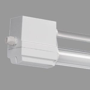BREMERHAVEN HT 1X36W, VVG induktiv, LSR 50mm Silikatglas, freistrahlend