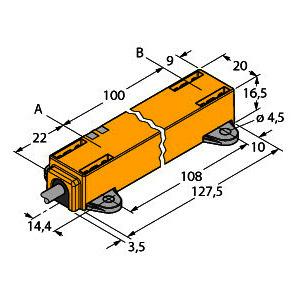 LI100P1-Q17LM1-LIU5X2, Induktiver Linearwegsensor