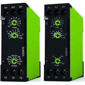 V2ZM10 12-240V AC/DC, Multifunktion, 10 Funktionen, 1 Wechsler, 12-240V AC/DC