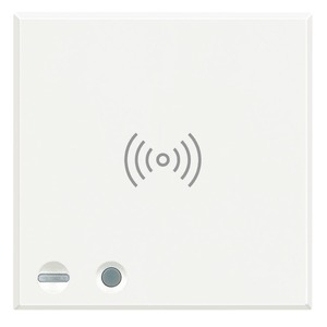 Scharfschalter – speichert bis zu 30 Transponder – Hilfskanal verfügbar für Aktivierungen, White