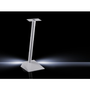 CP 6106.100, Standfuß-Bodenplatte, modular, CP 60 klein, BHT 400x108x400 mm, Belastung 18kg