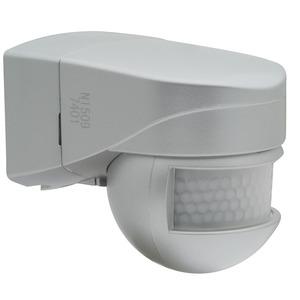 LC-Mini 180 Edelstahl-Optik, LC Mini 180 edelstahlfarben BEG-Version  BEG Luxomat Bewegungsmelder