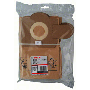 Papierfilterbeutel, Papierfilterbeutel, passend zu PAS 11-21, PAS 12-27 und PAS 12-27 F