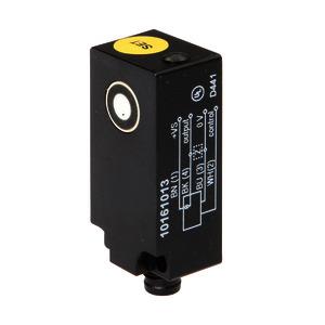 Sensor Ultraschall, Reflexschranke, 42x15x20mm, Sn: 0-200, 12-30V DC, PNP NO, 200mA, M8-Stecker...