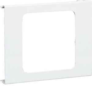 Blende 1-f,BRS,100,Stahlblech,reinweiß