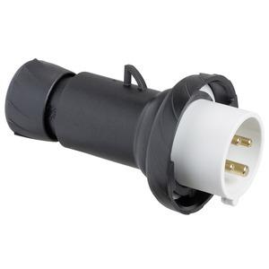 CEE Stecker, Schraubklemmen, 32A, 3p+E, 480-500 V AC, IP67