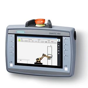 6AV2125-2GB23-0AX0, SIMATIC HMI KTP700F Mobile, 7.0 TFT-Display, 800x 480 Pixel, 16m Farben, Tasten-und Touchbedienung, 8 Funktionstasten, 1x PROFINET/Industrial Etherne