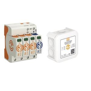 OBOX-WG T2+TK, Überspannungsschutzpaket Energie Telekommunikation
