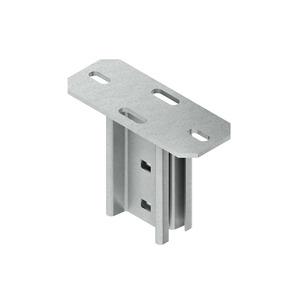 KI 80, Schraubkopfplatte für Profil I 80, Stahl, feuerverzinkt DIN EN ISO 1461, inkl. Zubehör