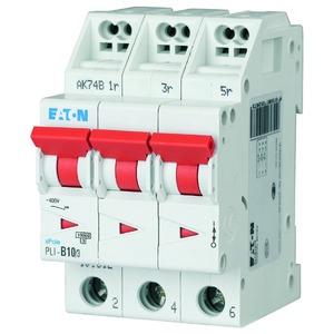 PLI-C10/3, Leitungsschutzschalter, 10A, 3p, C-Char