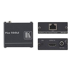 Zum Übertragen von HDMI-Signalen via Twisted Pair (Cat-6/7) Leitung.  Eingang: HDMI Buchse ÔÇè Ausgang: RJ45 Buchse Max. 4,95 GBit/s, unterstützt 3D,