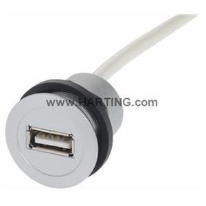 Serviceschnittstellen, USB 2.0, Kabellänge: 3m, Art der Verbindung: Typ A Buchse - Typ A Steckverbinder
