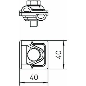 249 6-8 CU, Schnellverbinder Vario 6-8mm, Cu