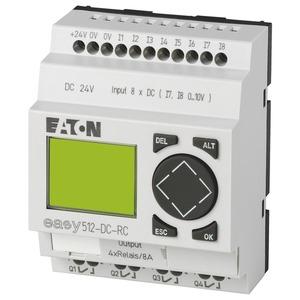 EASY512-DC-RC, Steuerrelais 24 V DC 8 Eing./4 Relaisausg., EASY512-DC-RC