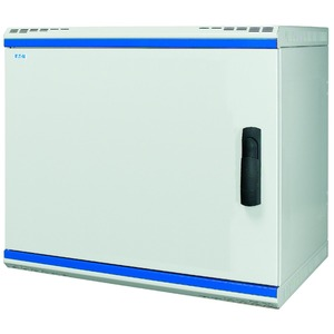 NWS-5A15/BL/SH, Wandgehäuse, 19 Zoll, 2-teilig, T=500mm, 15HE, Tür, Metall, +Schwenkhebel