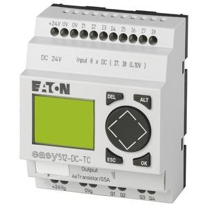 EASY512-DC-TC, Steuerrelais 24 V DC 8 Eing./4 Transistoren, EASY512-DC-TC